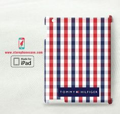 Tommy hilfiger square pattern - iPad 2 3 4(3D) Cover Case