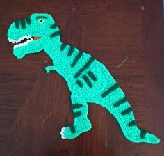 Ravelry: Dinosaur Trex Applique Pattern pattern by Erin Shaw of Shaw Crocheting