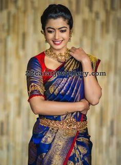 Your Official Guide to Find Best Half Saree Blouse Designs Wedding Saree Blouse Designs, Half Saree Designs, Pattu Saree Blouse Designs, Wedding Sarees, Sari Blouse, Bridal Sarees South Indian, Bridal Silk Saree, South Indian Weddings, Silk Saree Kanchipuram