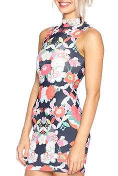 Freak Out High Neck Toastie Dress - LIMITED (16)