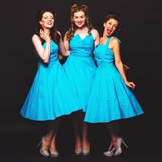 Blue Monday?! No way! We've changed it to Blue DRESS Monday! And we just love our bold bright Myrtle style dresses from @lindy_bop   #theglamophones #retro #vintage #trio #vocalharmony #girlgroup #pinupstyle #forties #fifties #fiftiesstyle #lindyboplove #myrtle #bluemonday #bluedress #bluedressmonday #bright #petticoat #girls #fun #entertainment #performers #singers #birmingham by theglamophones