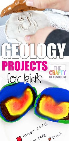 Children can explore the world with easy, hands on Geology activities including with an erupting volcano, land form diorama, or Earth Layers Model! Early Childhood Activities, Childhood Education, Early Education, Science Education, Lesson Plans For Toddlers, Lessons For Kids, Earth Layers Model, Rainforest Project, Erupting Volcano
