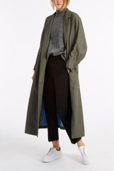 Find Rachel Comey Zia Coated Trench Coat Only at Modalist