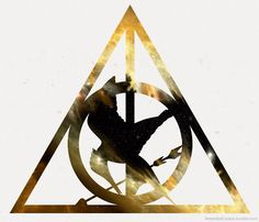 harry potter and hunger games - two of my favorite things put into one.