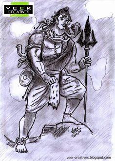 vEEr Creatives: Shiva - The Destroyer