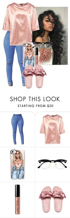 """Untitled #287"" by africanqu33n ❤ liked on Polyvore featuring Boohoo, Casetify, Topman, Bobbi Brown Cosmetics and Puma"