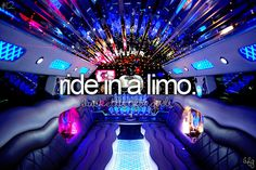 I've done once but I can barely remember and it was only for like 10 minutes. I want a proper Limo party.