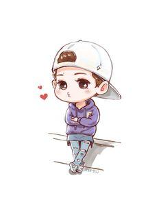 Xiuhan Fanart EXO chibi | AM Roses: ...