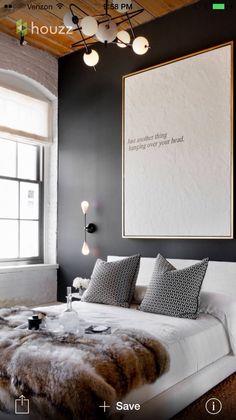 36 Stunning Modern Scandinavian Bedroom Design And Decor Ideas - Popy Home Decor, Beautiful Bedrooms, Home, Home Bedroom, Bedroom Design, House Interior, Bedroom Inspirations, Modern Bedroom, Interior Design