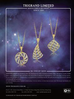 Trigrand Ltd. #HKJE #Magazine #SpringSummer2016 #Advertisement #Jewellery #Diamond #FineJewellery