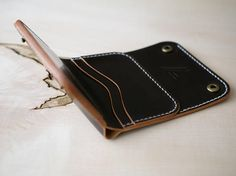 Leather Purse Leather Wallet Mens Leather Trifold Wallet