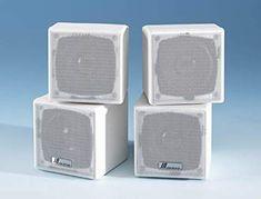 "JA Audio 3.5"" Mini Cube Speakers - White (Pair) Review Satellite Speakers, Cube, Audio, Pairs, Electronics, Mini, Consumer Electronics"