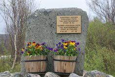 EU:n ja Suomen pohjoisin piste Finland, Explore, Plants, Runway, Exploring, Planters, Plant, Planting
