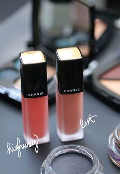 Chanel Highway and Lost the Two Chanel Rouge Allure Ink Liquid Lipsticks From the Fall 2017 Travel Diary Collection