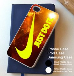 Nike Yellow Galaxy Sun Art Cover iPhone 4 4s 5 5s 5c 6 6s 6+ 6s+ Samsung Case
