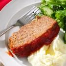 cottage cheese meatloaf, my man's favorite
