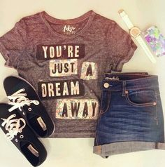 Cute teen summer outfit from aero