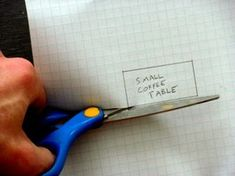 Arrange Furniture More Easily: Create a Scale Drawing With Movable Furniture!: 11 Steps
