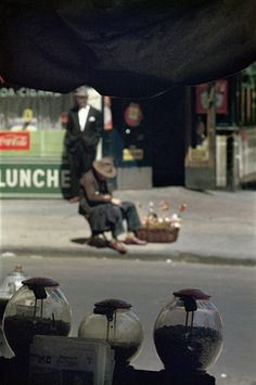 New York, 1954 © Saul Leiter