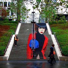 @zag_sia in Paris France.  www.UpFade.com by streetartglobe