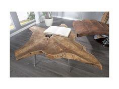 Bighome - Konferenčný stolík BAUME II 90 cm - prírodná