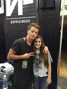 NF chilling with his fans!