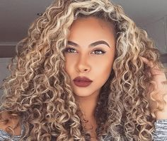 Big beautiful blonde curls blondecurls highlights curly curly hair i want this hair color pmusecretfo Image collections