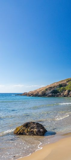 Kalathas beach in Chania, Crete - When the crowds are gone!