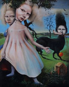 HeatherNEVAY  -  The Dog with the Black Eyes  2003