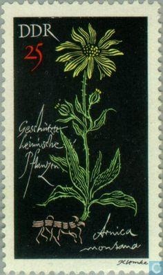 Postage Stamps - GDR - Plants