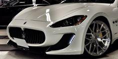 Cars Gallery | Maserati | Gran Turismo | White | Forgiato