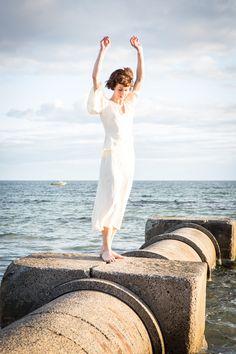 Megan von de by Peter Berzanskis #beach #white #light