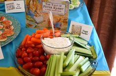 Bookworm Birthday Party Food and menu ideas