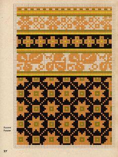 cimduraksti085 (524x700, 555Kb) Knitting Charts, Knitting Stitches, Knitting Patterns, Crochet Patterns, Lace Patterns, Craft Patterns, Embroidery Patterns, Mittens Pattern, Knit Mittens