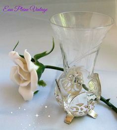 Hey, I found this really awesome Etsy listing at https://www.etsy.com/listing/257526613/italian-glass-flower-vase-silver-plate