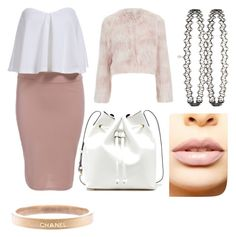 """""""chanel number 2 scream queens"""" by jennykayembe on Polyvore featuring RED Valentino, Miss Selfridge, Chanel, Sole Society, LASplash, women's clothing, women's fashion, women, female and woman"""