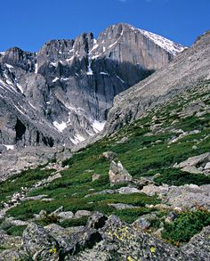 Longs Peak by Visit Colorado - one of the first 14's I hiked