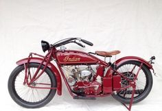 1924 Indian Scout V-Twin at the Mid America Auction in Pebble Beach '13