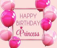 Mensagem de aniversário - Happy Birthday Princess