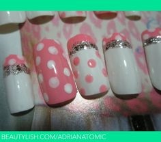 images of white & pink nail art adriana t s wallpaper