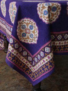 Morroccan Tablecloth