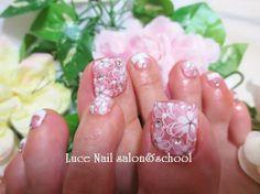 2カラーグラデ☆夏ビビットカラーの画像 | 横須賀ネイルサロン・スクール Luce Nail salon&scho…