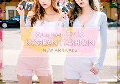 Follow our Korean Fashion Board to get the most updated news on the YesStyle Summer 2016 Korean Fashion