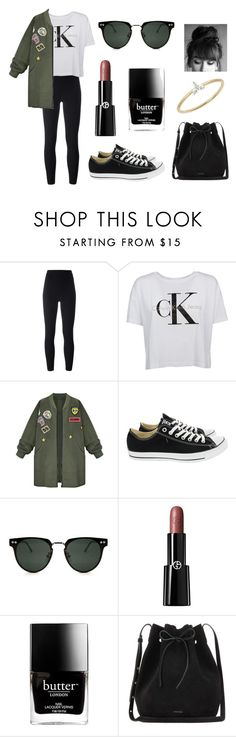 """Untitled #326"" by fashion-with-dudette on Polyvore featuring adidas Originals, Calvin Klein, WithChic, Converse, Spitfire, Giorgio Armani, Butter London, Mansur Gavriel and EF Collection"
