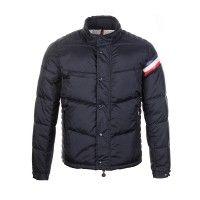 Moncler Chamonix Short With Buttons Jacket Men Down Black