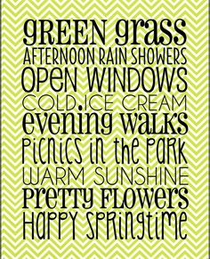 spring sayings pinterest | Printable quotes and sayings / Free Spring Printable from Joyful ...
