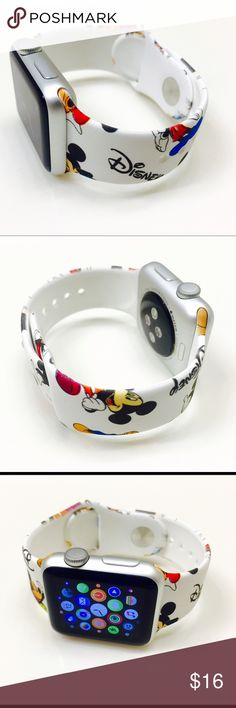 42mm Disney Apple Watch Band Brand new 42mm Disney Apple Watch Sports Band (Watch is not included) Great Gift for your friends and Love ones !!! Disney Accessories Watches