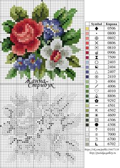 Gallery.ru / Фото #144 - small маленькие схемы - pustelga Cross Stitch Pillow, Mini Cross Stitch, Cross Stitch Cards, Cross Stitch Rose, Cross Stitch Alphabet, Cross Stitch Flowers, Cross Stitching, Cross Stitch Embroidery, Embroidery Patterns