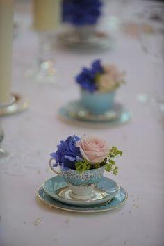 69 Ideas for vintage wedding table settings centre pieces tea cups Tea Party Wedding, Wedding Table, Our Wedding, Wedding Ideas, Wedding Blog, Wedding Centerpieces, Wedding Decorations, Teacup Centerpieces, Irish Wedding