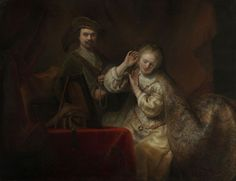 Ferdinand Bol (Dordrecht 1616-Amsterdam 1680) - Rembrandt and his Wife Saskia
